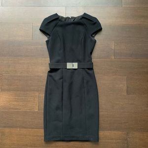 ZARA black pencil dress